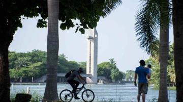 Llega la nueva normalidad a los parques de Villahermosa