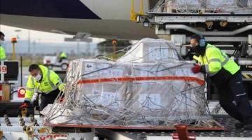 Llega a México séptimo vuelo de Estados Unidos con ventiladores para atender pandemia