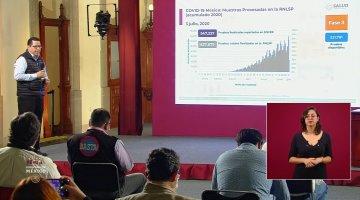 México llega al noveno lugar de la lista de los países con más casos COVID, supera a Italia por más de 4 mil casos