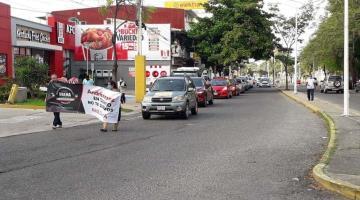 ´Poco original´ las manifestaciones que se hacen en coche, califica AMLO