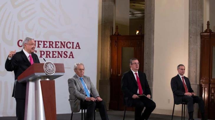 Nunca ha platicado con el presidente del INE, por respeto a la autonomía: AMLO