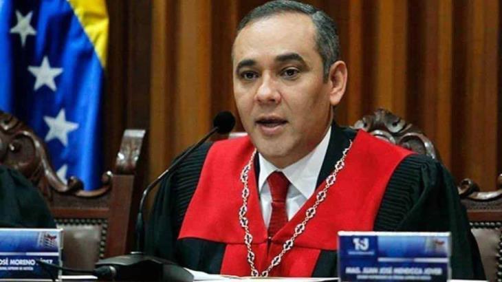 Ofrece EU recompensa de 5 mdd por el presidente del TSJ de Venezuela