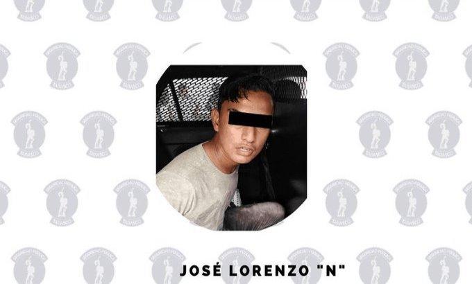 Detienen a sujeto acusado de robo en la zona de Tabasco 2000