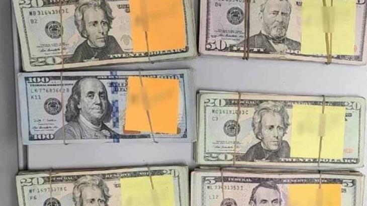 Decomisan 34 mil dólares en cruce fronterizo de Chihuahua; el portador no lo declaró en la aduana
