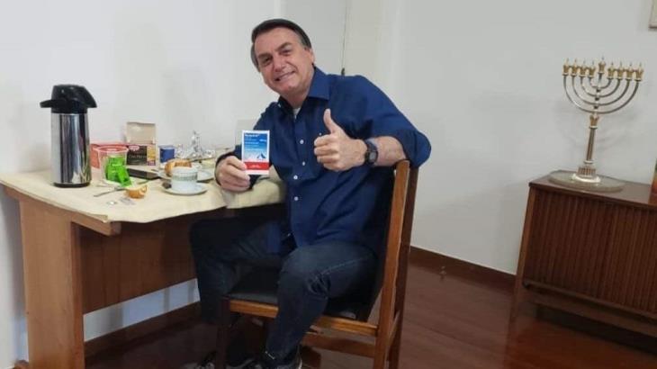 Supera Jair Bolsonaro al COVID-19, dio negativo ayer sábado