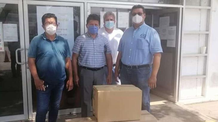 Entrega SEMOVI más de 10 mil cubrebocas a transportistas; quieren hacer conciencia sobre su uso obligatorio ante la pandemia