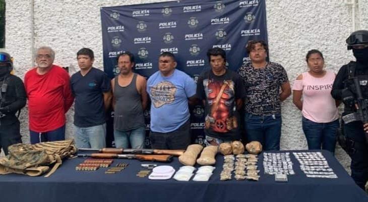 Detienen en Cancún a integrantes de una banda de delincuentes originarios... de Tabasco
