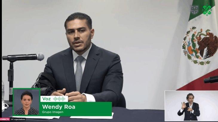 Reaparece públicamente Omar García Harfuch