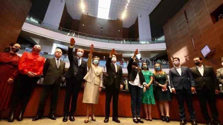 Ratifica Senado a embajadores de México en España, Belice, Irán y Serbia