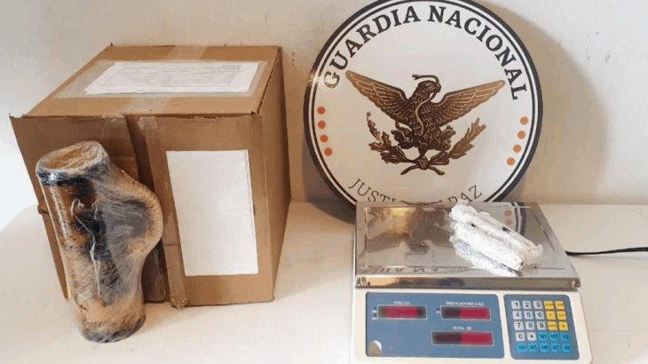 Asegura Guardia Nacional 300 pastillas de fentanilo y 770 gramos de metanfetamina