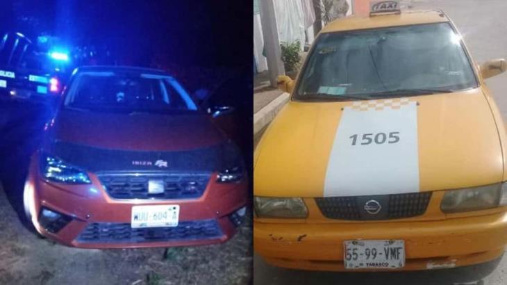 Recuperan dos unidades reportadas como robadas en Villahermosa