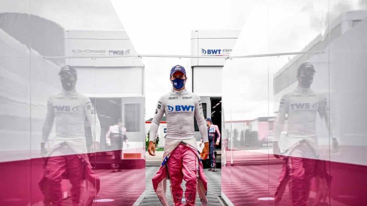 """""""Checo"""" Pérez, el primer piloto de Fórmula 1 contagiado de COVID-19"""
