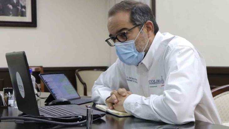 Mandatarios no coinciden con gobierno federal respecto al manejo de la pandemia: gobernador de Colima