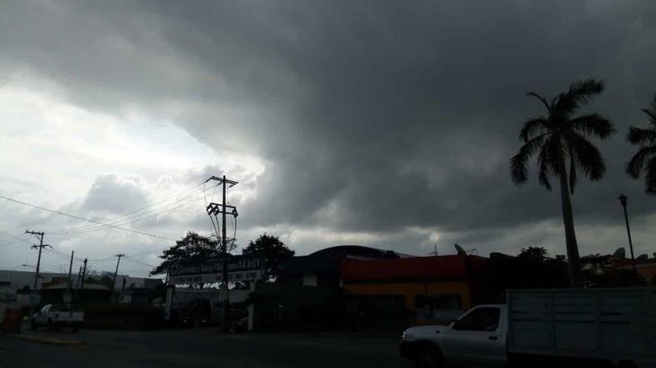 Prevé Conagua lluvias moderadas para Tabasco con posible tormenta eléctrica