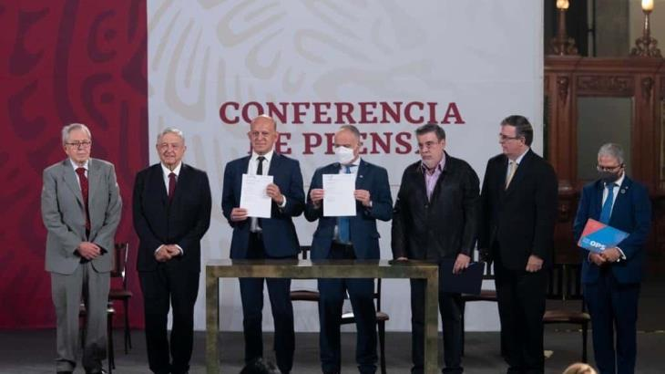 Firman gobierno federal y la ONU acuerdo para la compra consolidada de medicamentos, vacunas y equipo médico en el extranjero