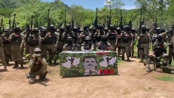 Advierte El Mencho a la Guardia Nacional que no intervenga en conflicto en Tepalcatepec
