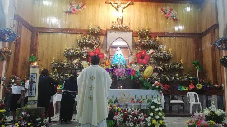 Festejos de la Virgen de Cupilco en Comalcalco serán de forma virtual por la pandemia