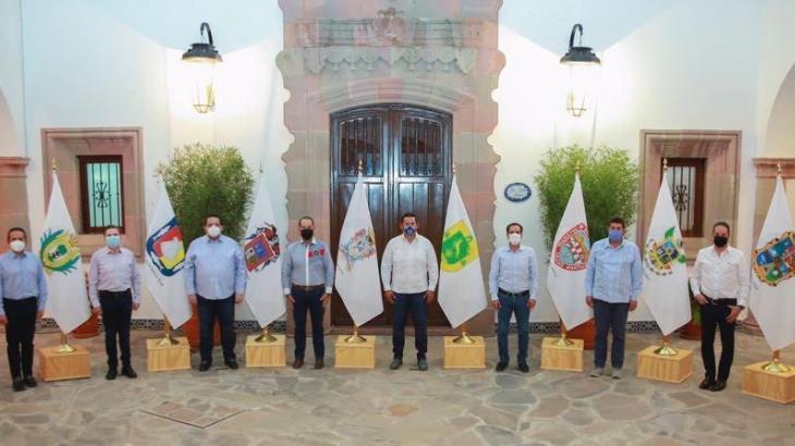 Panistas felicitan a Diego Sinhue por detención de 'El Marro'
