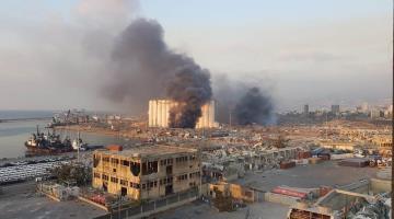 Explosión de almacén deja decenas de muertos y miles de heridos en Beirut