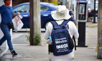 Encuestadores del INEGI vuelven a las calles con todas las medidas de sanidad