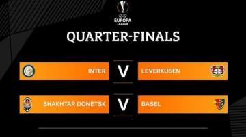 Se definen Cuartos de la Europa League
