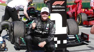 Mercedes renueva a Valtteri Bottas hasta 2021