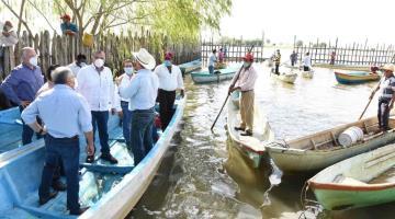 Anuncia gobierno de Tabasco dragado de zonas lagunares de Centro para 2021