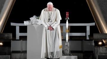 Pide Papa Francisco que las naciones renuncien a las armas nucleares