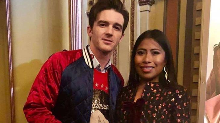 Planea Drake Bell película en México y quiere a Yalitza como protagonista
