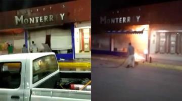 Se incendia una tienda de abarrotes en Comalcalco... no hubo heridos