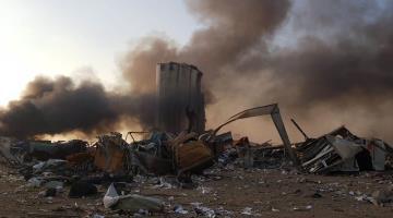 "Investiga gobierno de Líbano posible negligencia e ""intervención exterior con un misil"", en explosión de Beirut"
