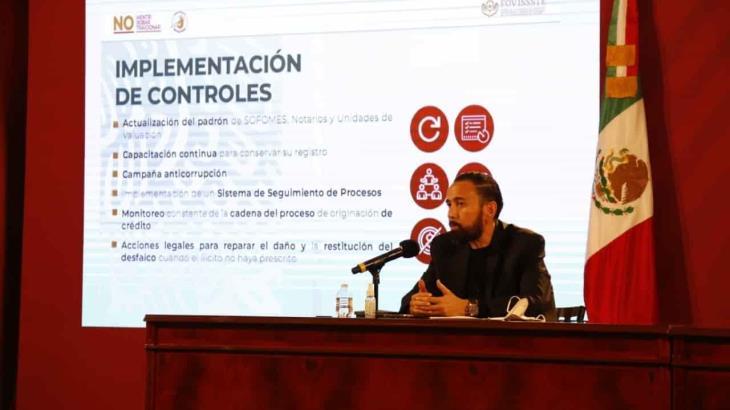 Dan de baja 633 notarios públicos por presuntos actos de corrupción, revela FOVISSSTE