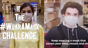 Lanza la OMS el reto del uso del cubrebocas para disminuir los contagios de COVID-19 en el mundo