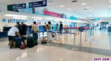 Registra julio aumento de pasajeros en el Aeropuerto de Villahermosa; transitaron 30 mil 426 personas