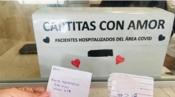 Implementan en Tabasco ´Cartitas de Amor´ para pacientes de Covid internos en el IMSS