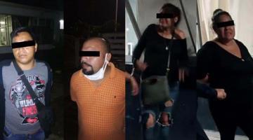 Arrestan a dos parejas que cargaron combustible y asaltaron una gasolinera en Nacajuca