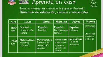 Anuncia ayuntamiento de Paraíso regularización de clases... mediante Facebook