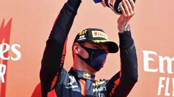 Arrebata Verstappen el GP de 70 Aniversario a Hamilton