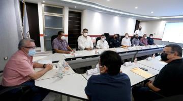 Se reúnen autoridades estatales y municipales de la zona de los ríos con sus homólogos de la FGE