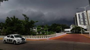 Prevé Conagua precipitaciones de 75 milímetros este lunes en Tabasco