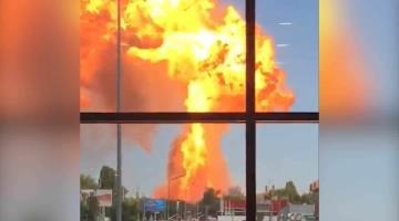 Explota gasolinera y deja varios heridos