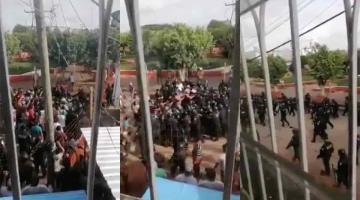 """Inicio de """"mercado en calle"""" genera disturbios en Villa Benito Juárez Macuspana"""