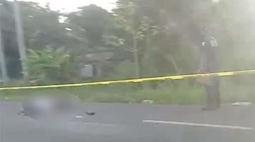 Muere motociclista tras ser atropellado en la carretera Villahermosa-Frontera