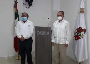 Toman protesta a Jesús Alamilla Padrón como nuevo fiscal especial del OSFE