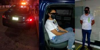 Detienen a venezolanos en Bancomer de Pagés Llergo