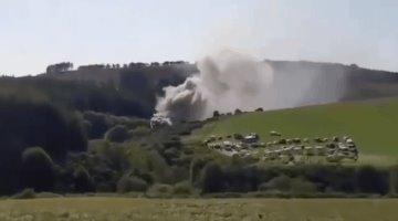 Se descarrila tren en Escocia; tres muertos y seis heridos el saldo