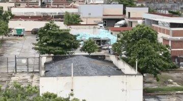 Hospital de Alta Especialidad No. 14 del IMSS en Veracruz, acumula toneladas de basura en su patio