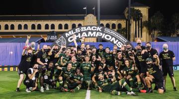 Portland Timbers consiguen su pase a Concachampions, tras ganar la MLS is Back