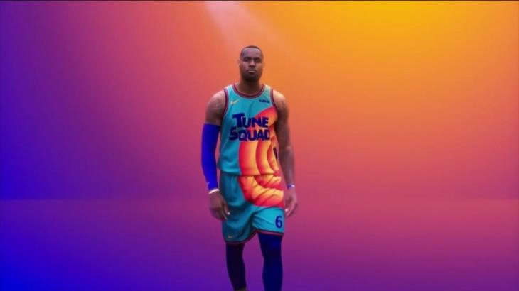Dan a conocer vestuario de LeBron James en Space Jam 2