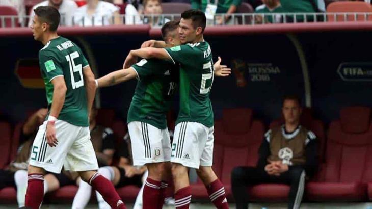 Así celebran futbolistas ser mexicanos